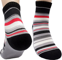 Roberto Cotton Quarter Sport Socks Men Small US Shoe 7-9 Cushion Bottom by Leevo