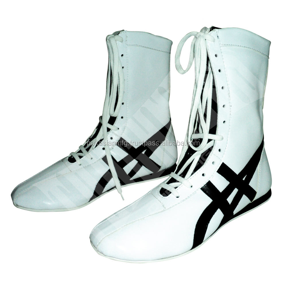 Custom Made Leather Boxing Shoes - Boxing Boots