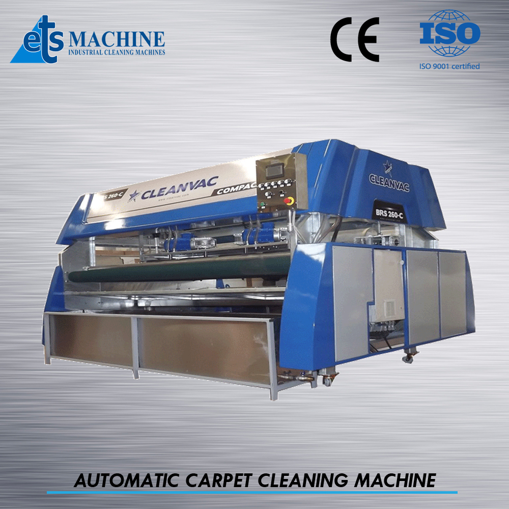 how to clean carpet with machine