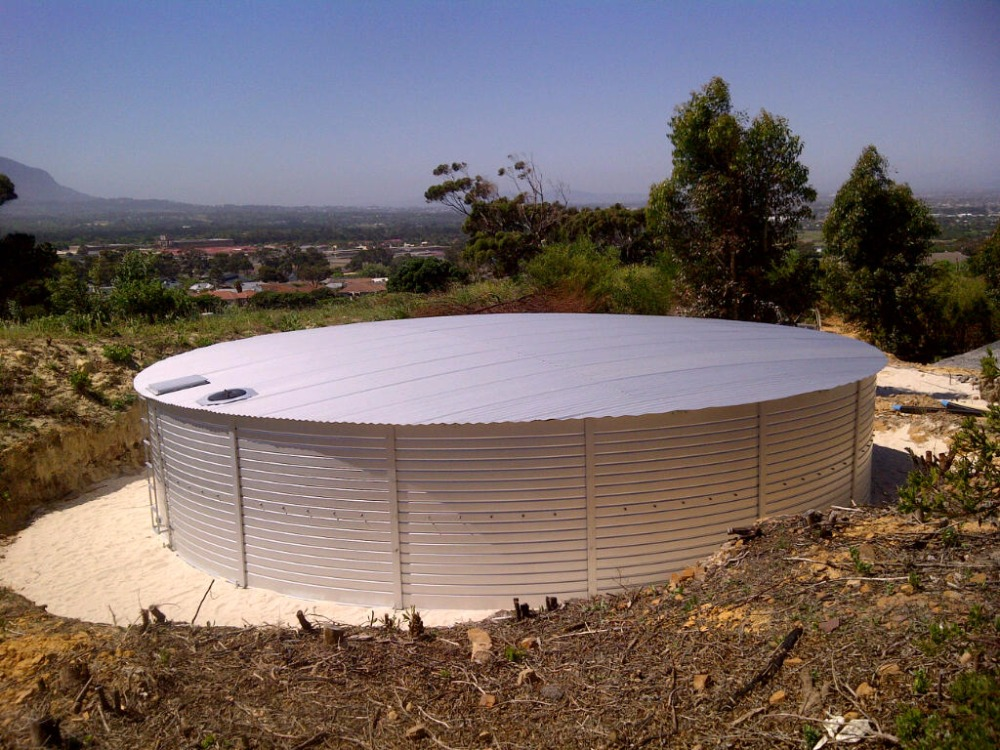 Zincalume Bolted Water Steel tanks