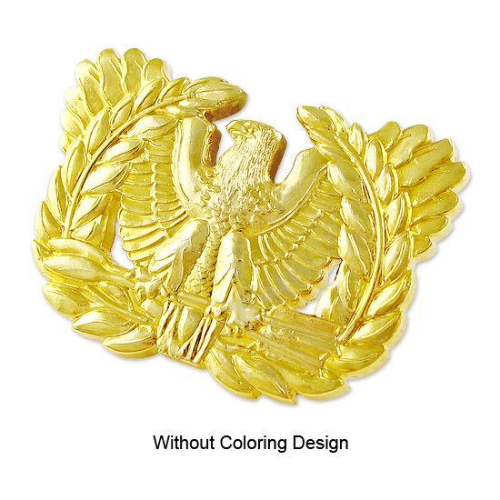 Transparent Color Irregular Glitters Military Challenge Coins