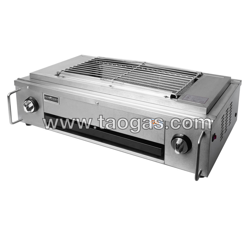 Smokeless Stainless Steel BBQ Grill NT-05