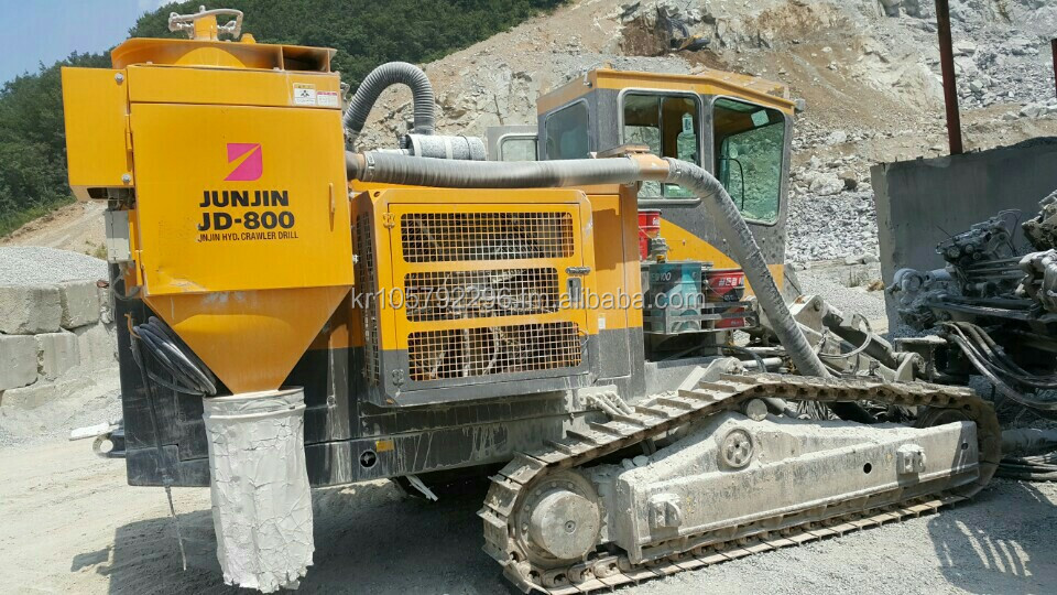 Used crawler drill machine JUNJIN JD800 Y2012