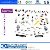 Audio Video RF coaxial F connector male to female connector