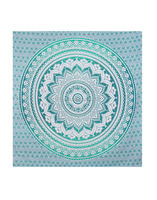Ombre Indian Mandala Tapestry Decorative Wall Hanging Floral Mandala Printed Wholesale Handmade Tapestry