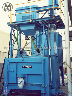 Automatic Single Door Swing Table Shot Blasting machine