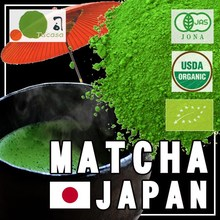 Japanese whosesale ceremonial matcha organic tea 30g can and bag