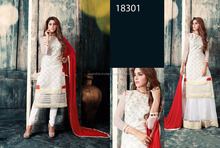 Net Fabric Indo Western Dress for Women