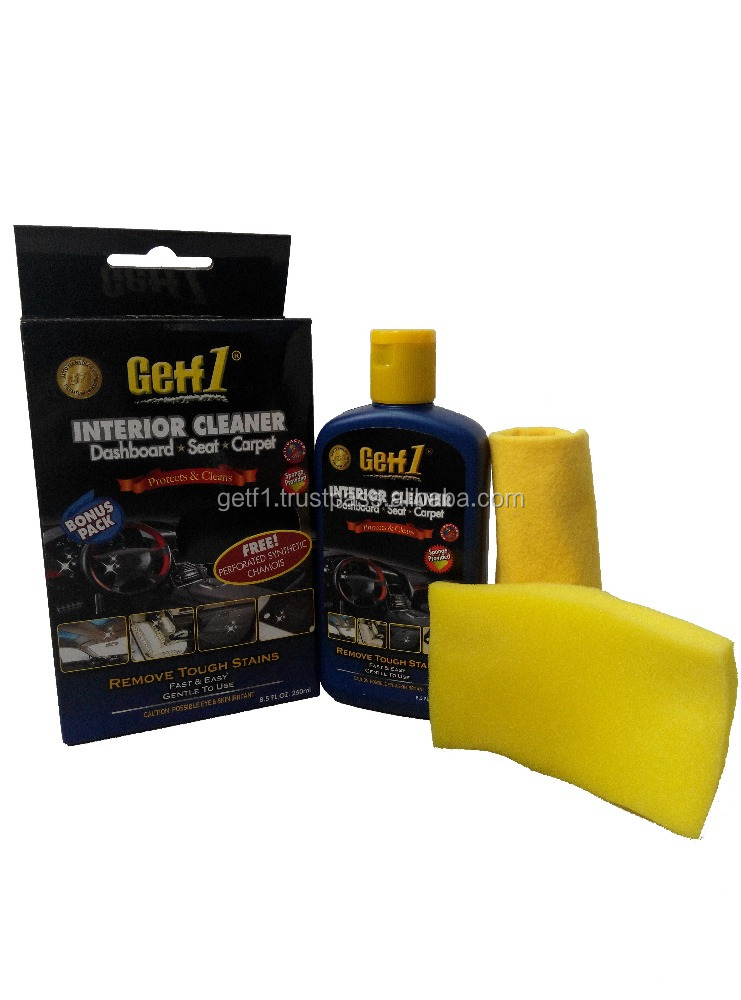 (GETF1)Car Dashboard Interior Cleaner (Bonus Pack)- 250ml Dashboard Interior Cleaner, Car Care Product, Alibaba Malaysia