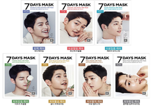 Song Joong Ki 7 Days Mask Pack, Descendants of the Sun, Korean star, South Korea