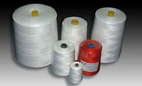 spun polyster thread