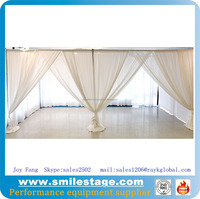aluminum tent pole photo booth used drapes
