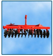 4 discs of heavy duty disc plough for 4 wheel tractor