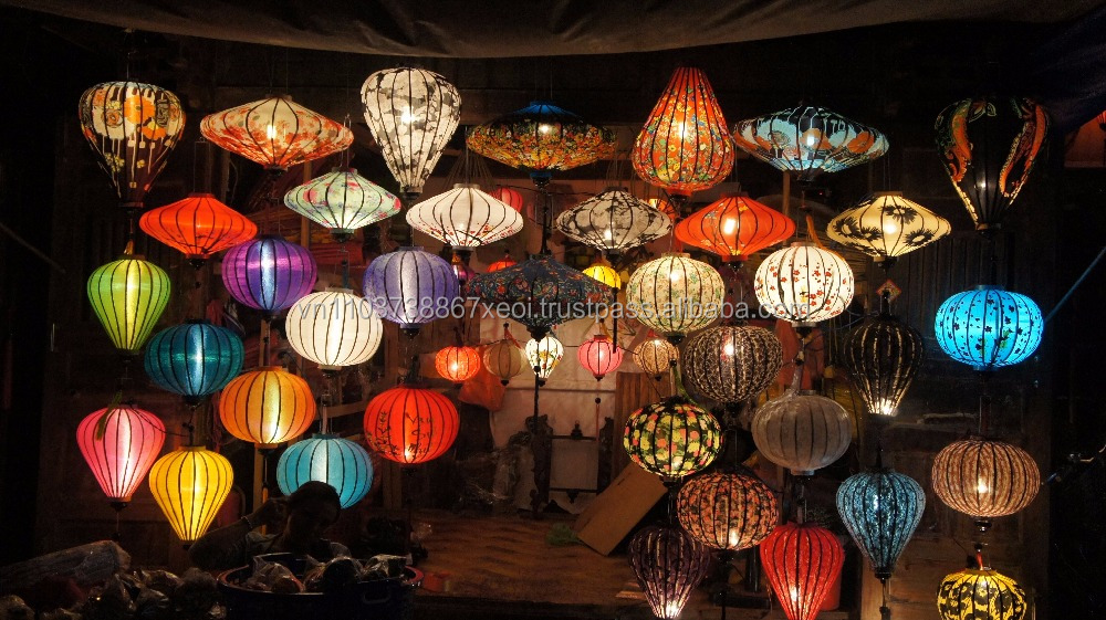 vietnamese hoi an lantern for indoor hanging decoration (Jolie whatsapp viber 84 98 358 7558)