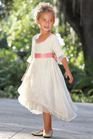 Cute baby party wear sexy flower girl dresses wholesale