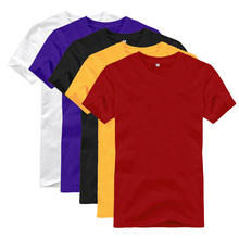 Adults Age Group and T-Shirts Product Type wholesale egyptian cotton t-shirts blank