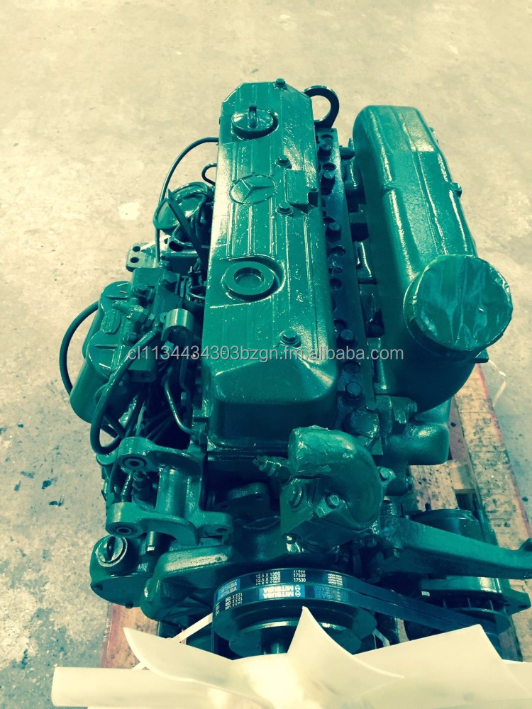 Mercedes Benz OM 366 Remanufactured Engine with Gearbox and Clutch