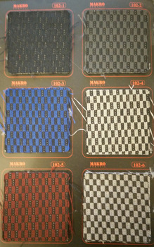 Car seat fabrics, automotive fabrics, car textile, auto textile, seat covers, seat cover fabrics, automotive fabrics