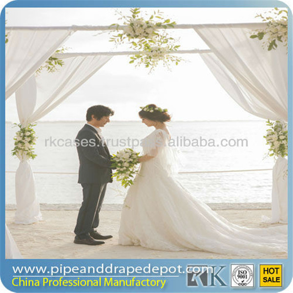 promotion wedding pipe drape,wedding ceiling drape fabric
