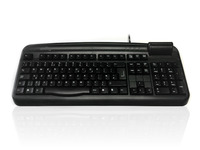 Accuratus K107C - USB Professional Full Size Landing Contact Smart Card Keyboard