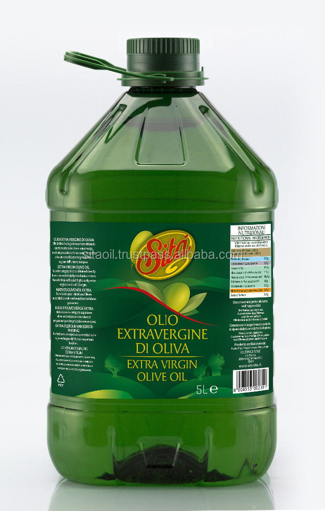 EXTRA VIRGIN OLIVE OIL - SITA - 5L PET