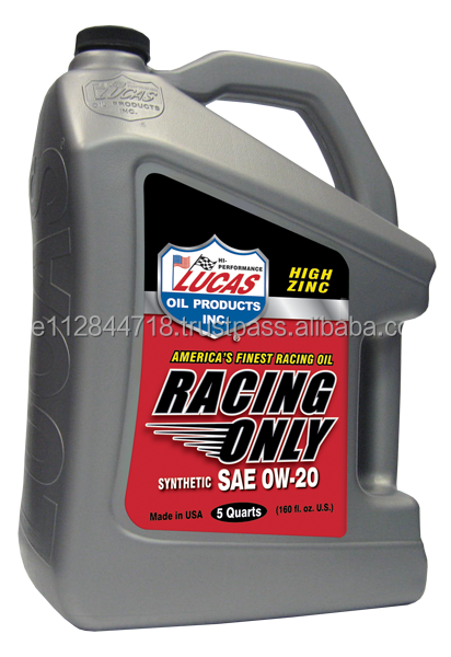 Lucas Synthetic Racing Motor Oil SAE 0w20 4.73L