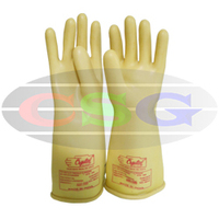 Electrical Safety Rubber Hand Gloves CSG-PPE-HAP-ESRHG-510A Core Safety Group