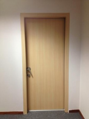 Acoustic Timber Door