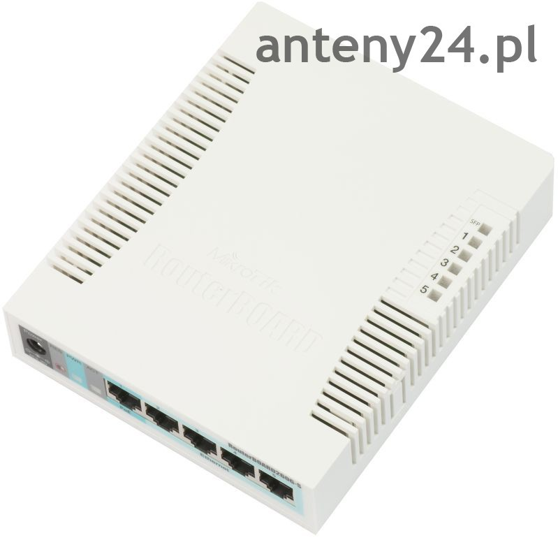 Mikrotik Router Board RB260GSP 5-PORT GIGABIT PoE Small Office/Home Office Switch SFP Port
