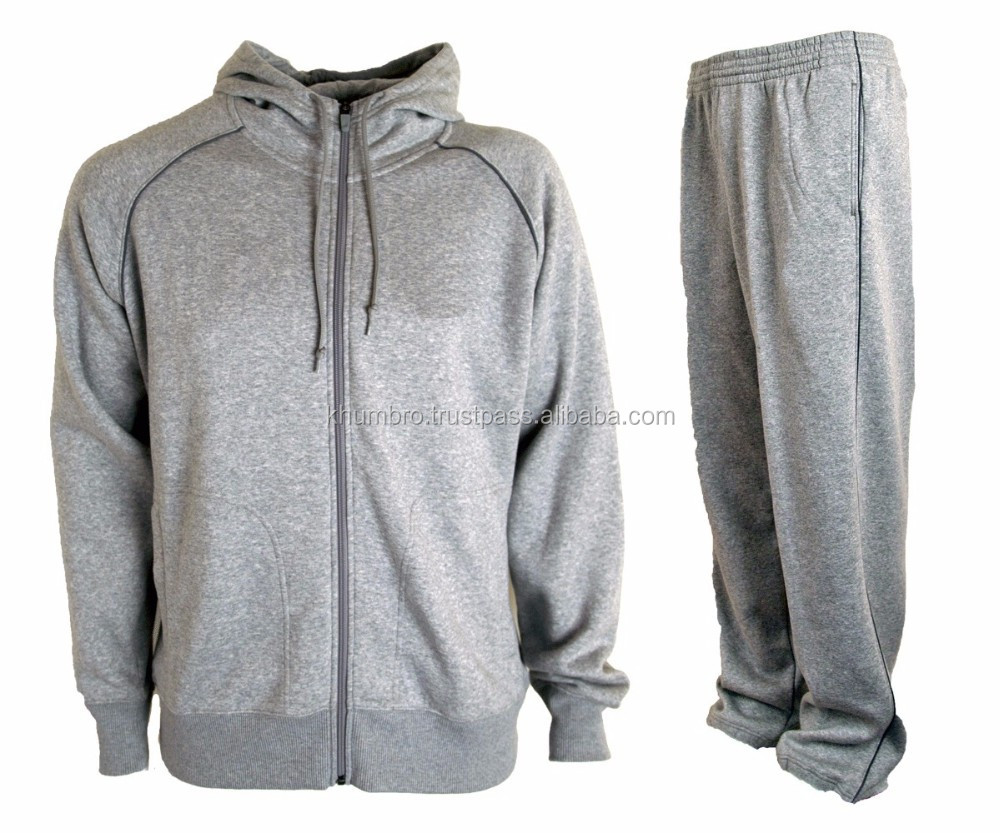 Polyester/cotton fashion tracksuit