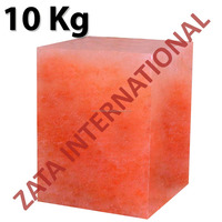 Himalayan Natural Rock Block Salt Licks Licking Feed Mineral Stone 10 Kg for Livestock Cattle Horse Camel Cow Sheep