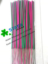 Hand made colored incense stick