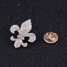Zinc Alloy Collar Brooch