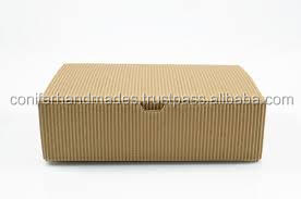 ribbed kraft paper boxes made from recycled kraft paper with a ribbed texture also available with logo print