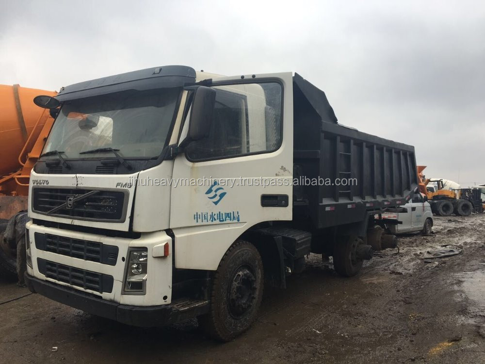 360hp Sweden Exported Volvo FM8 dump truck