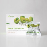 S-Shaper Slimming Detox Dried Plum Weight loss Green Plum Beauty Fruit For Digestion