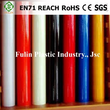 Color Soft Glossy High Transparent PVC Sheet Film