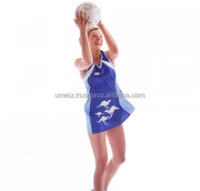 Cheap Netball Dress Jersey Dresses Uniforms With Sublimation/new sublimated design