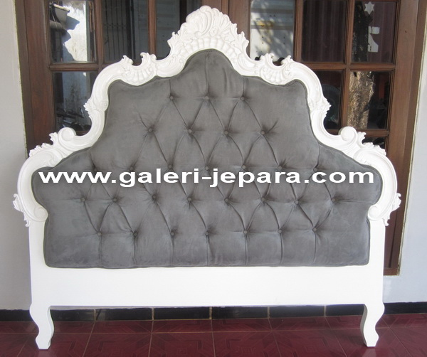 Antique Wood Headboard Bedroom Furniture - Baroque French Style Home Furniture