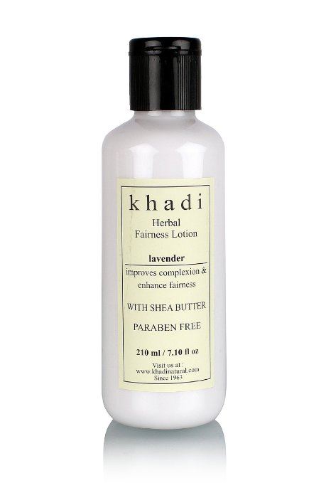 Khadi Lavender Fairness Lotion- with Sheabutter- Paraben Free