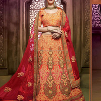 Hitansh Lehenga 1001 Series Silk Fabric