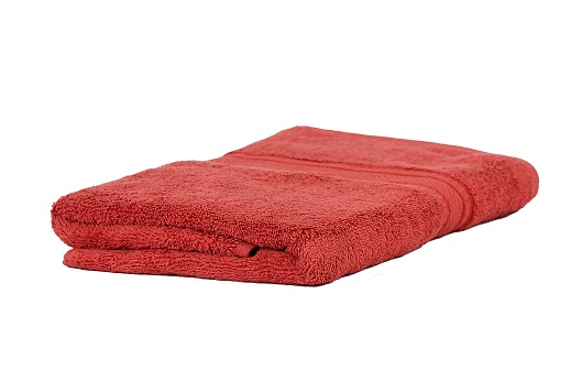 Trident Classic 100% Cotton Combed Solid Dyed Dobby Terry Bath Towel 75 cms x 1.5 m 525 GSM