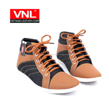 Brown High-top Sport Shoes Men VNLHY8A6L7XC