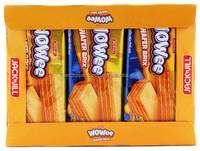 WOWEE WAFER BRIX WAFER SANDWICH IN CHEESE FILLING BOX 240G (12 PACKS X 20G)