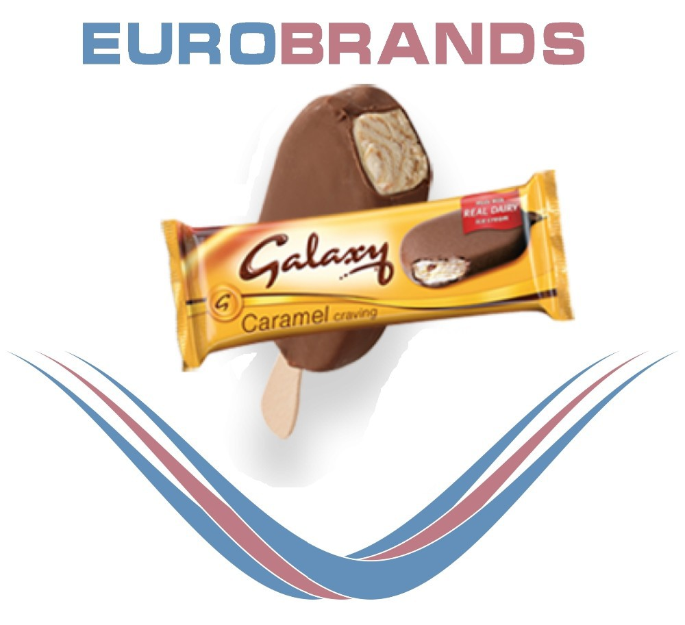 Galaxy Caramel Swir Ice Cream