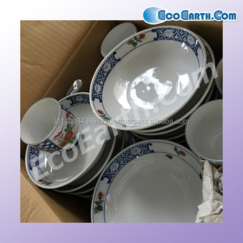 Various types of used ceramic cup from Japanese company