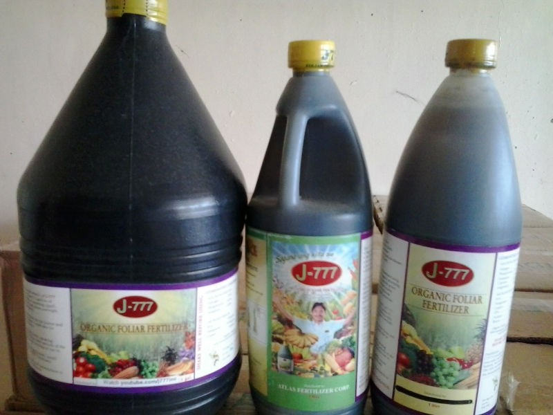 J-777 Organic Foliar Fertilizer
