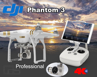Discount and Free Shipping For DJI Phantom 3 Professional w/ Spare Battery Drone 4K Camera Preorder with Case with Wheels, Extra