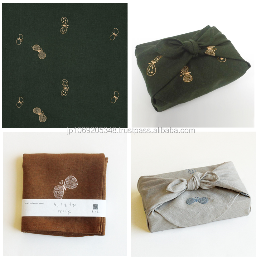 Fashionable and Traditional crafts Packaging Bags Japanese cloth with multiple functions made in Japan