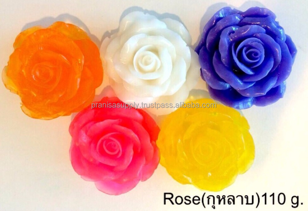Rose handmade soap Thailand